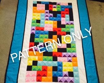 Tetris Quilt Pattern Tutorial