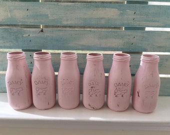 Dairy Farm Bottles Etsy
