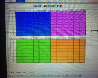 Debt Payoff Snowball Plan Budget Excel Spreadsheet