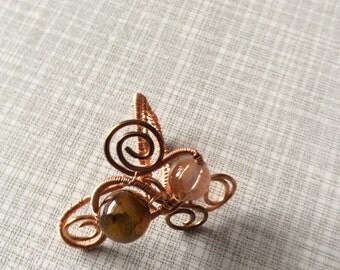 Ladies wire wrapped ring