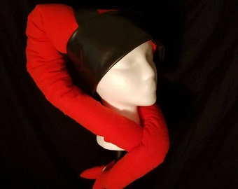 Star Wars costume cosplay Twi'lek Hat! Lekku tentacles Orange