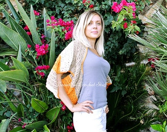 Crochet Shrug Pattern Crochet Sweater Pattern Crochet Shawl Pattern Crochet Bolero Pattern Crochet Jacket Pattern Crochet Coat Pattern