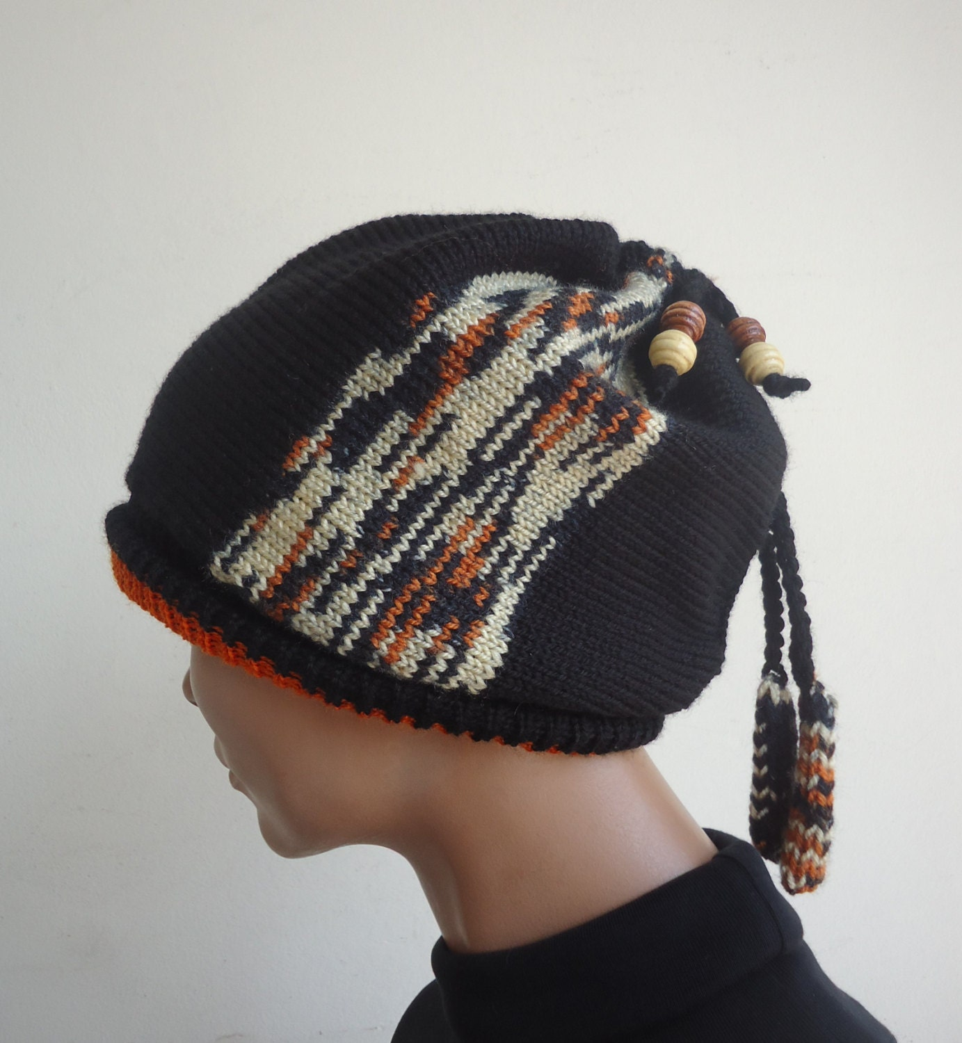 Knitting Hat For Women : Womens hat winter beanies knit knitted beanie