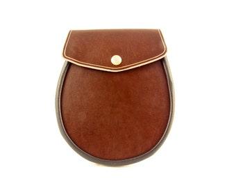 Sporran Leather Brown Basic Sporran