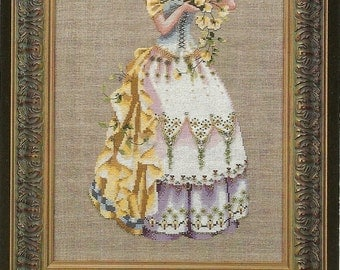 Mirabilia:  The Blossom Harvest Cross Stitch Kit