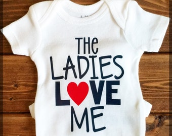 Ladies Love Me Onesie