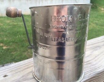 Vintage Bromwell Flour Sifter