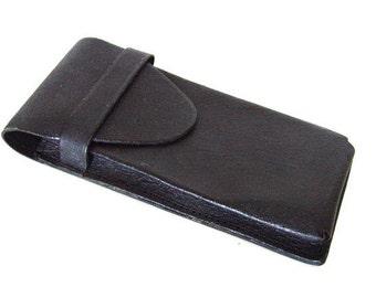 Vintage Leather Pen Case.