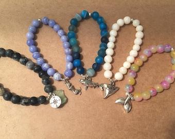 Nautical Beaded Bracelets