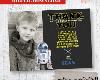 c3po and r2d2 Star Wars Thank you. Yoda Thank You. Printables. Star Wars Thank you. Yoda Party Printables. R2d2 and C3PO Party Printables.