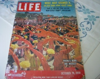 LIFE Magazine from October 19, 1959