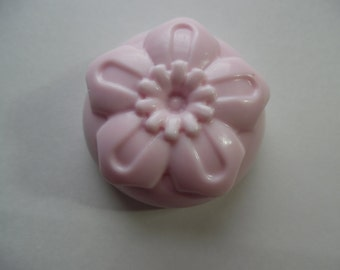 Floral Soap, Made to order, Hand poured, Choose your scent, Choose your Color, Soap