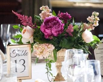 Wedding Centerpieces Gold Mercury Glass Vases Vase Votives