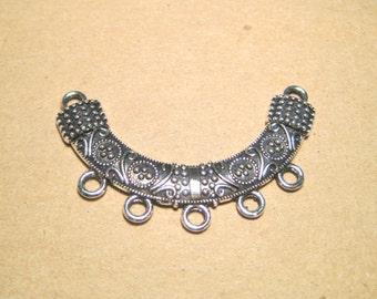 5pcs Antique Silver Chandelier Links pendants