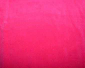 Fabric - Stretch velvet fabric - hot pink