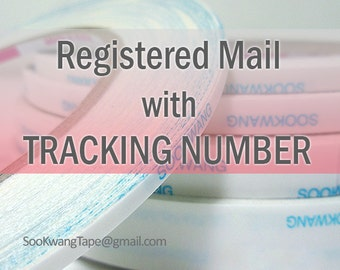 Tracking number_International registered mail