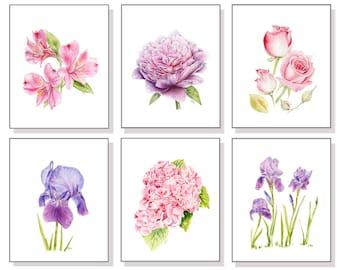 flower prints etsy