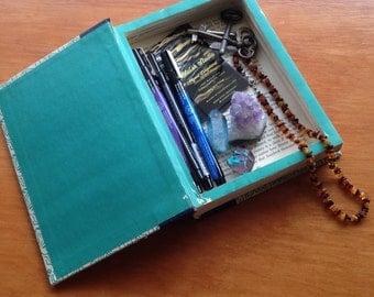 Hollow Book | Book Safe| Hollow Book Safe| Book Box | Secret Book Box | Gift Box | Stash Box | Diversion Safe | Secret Compartment | Vintage