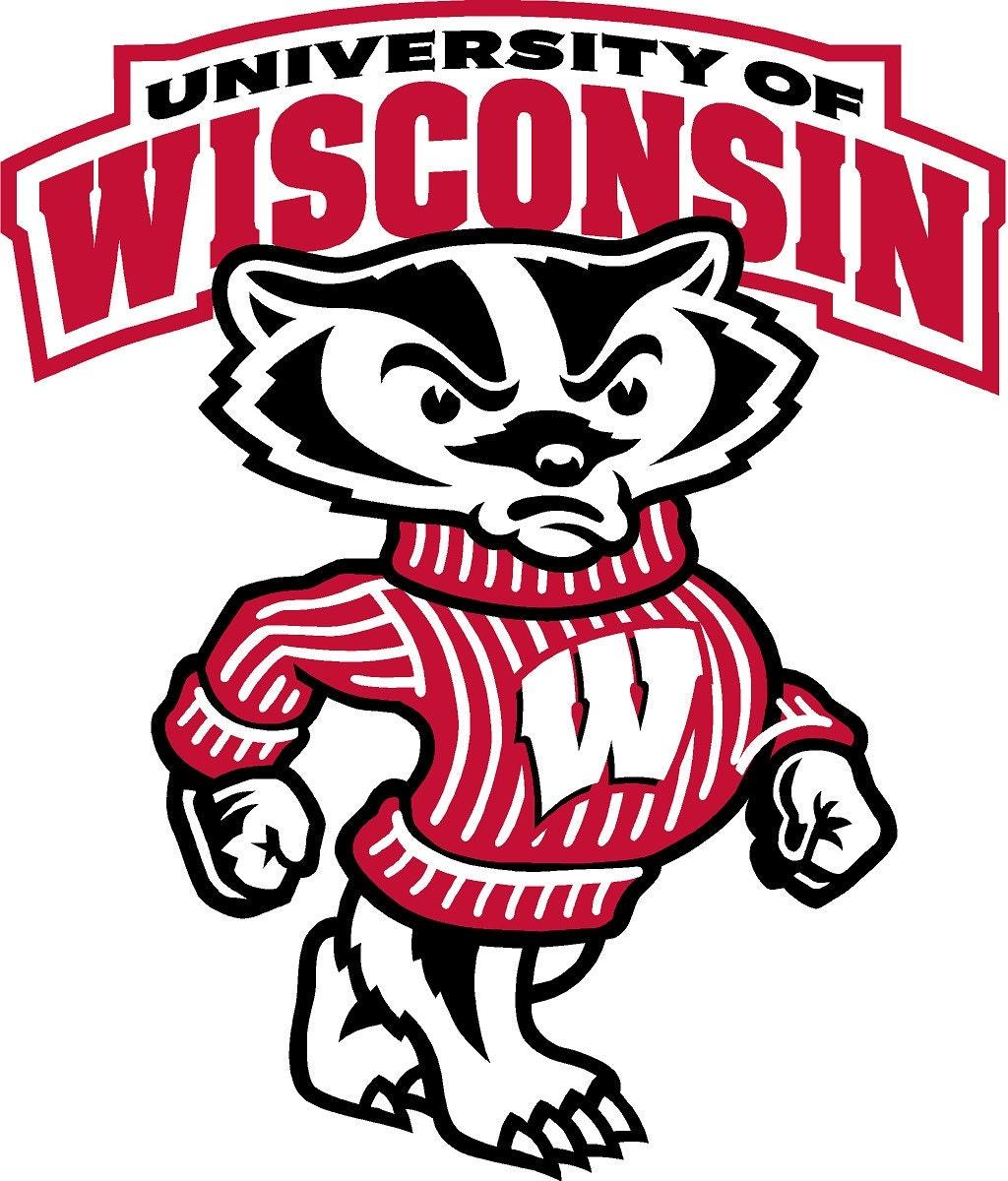 Wisconsin Badgers Cornhole Decals