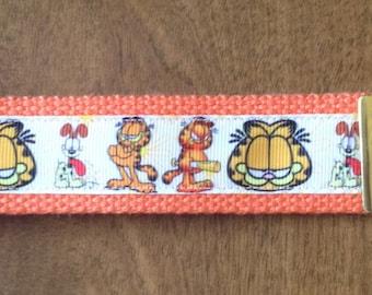 Garfield Key Chain Key Fob Wristlet