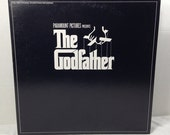 The Godfather Soundtrack vintage vinyl record LP album || 70's Film Score by Nino Rota || Marlon Brando || Mob Gangster Mafia