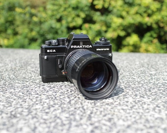 Vintage Praktica BCA with 135mm 2.8 Tele Lens