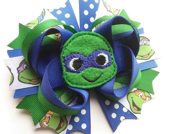 Blue Turtle Bow