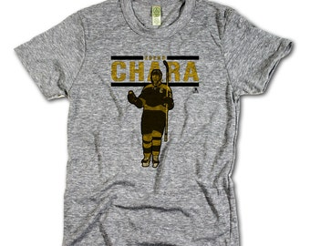 Zdeno Chara Officially Licensed NHLPA Boston T-shirt Unisex XS-2XL Zdeno Chara Play Y