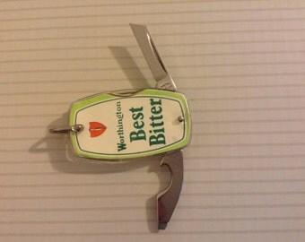 Advertising knife (worthington bitter)