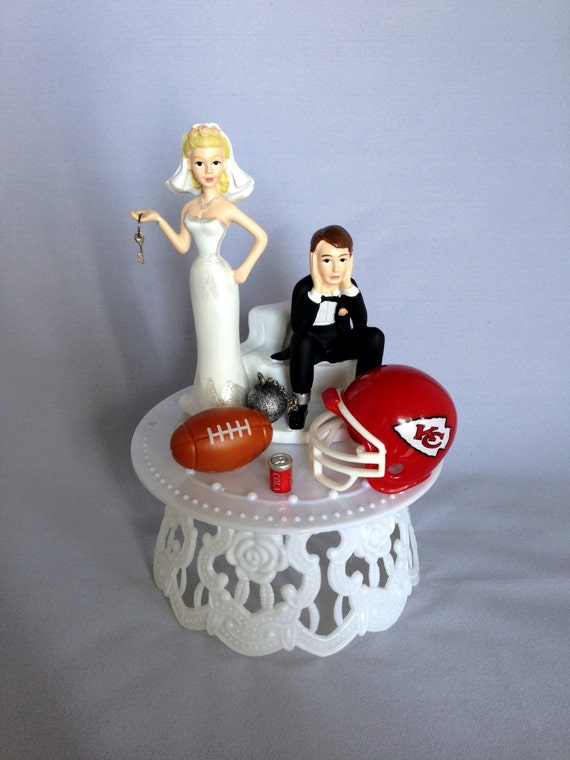 man city wedding cake toppers wedding cake topper and groom kansas city chiefs 17102