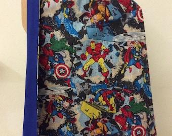 Kids Superhero Cape Reversible