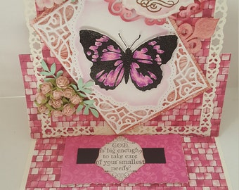 Any ocassion butterfly easel card