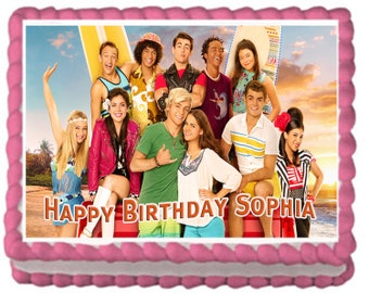 Teen Beach 2 Party Cake Topper with FREE Personalization