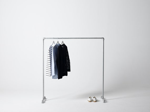 George & Willy Industrial Clothing Rack