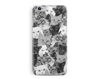 iPhone 7 Case, iPhone 7 Cover, Cat iPhone 7 Case,  Kitten iPhone 7 Case, Cat Phone Case, Cat Lover Gift, Tough iPhone 7, New iPhone 7 Plus