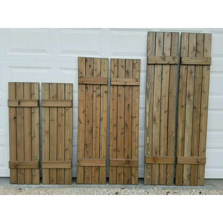 Vixen Hill Exterior Cedar Shutters Wood Shutter Exterior Cedar Shutters Wood Shutter Hardware
