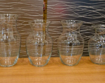 Classic Glass Vases For Wedding Centerpieces or Home Bouquet <3