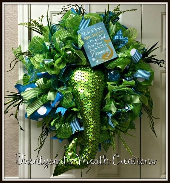 Mermaid Wreath/Summer Wreath