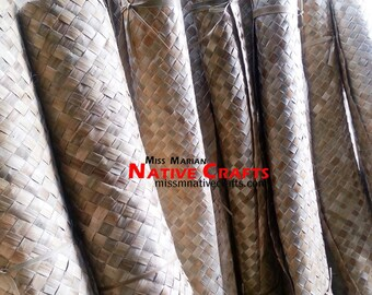 1 inch Weave Lauhala Matting Rolls (supplier/exporter)
