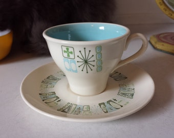 jamaica bay coffee cup and saucer