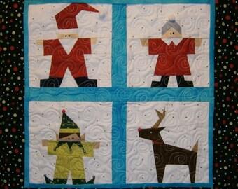 Santa and His Gang