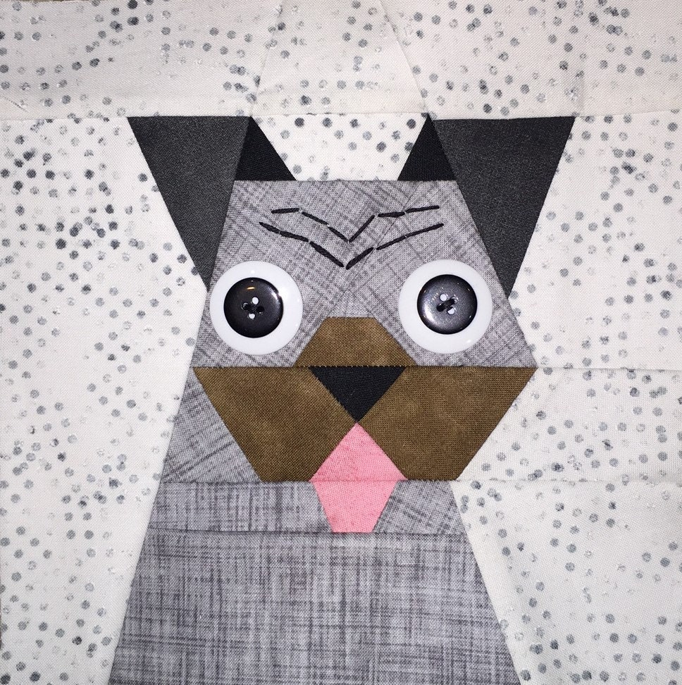 Pug Paper Pieced Block Pattern In Pdf From Madebymarney On