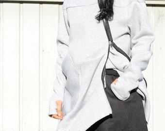Women sweatshirt zip, plus size zip hoodie, sweatshirt zip up, long women's hoodie, zip up hoodie, plus size tunic boho, top plus size loose