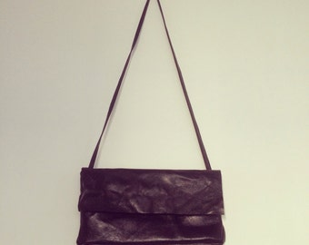 100% soft leather bag with adjustable strap