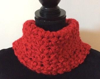Hand crochet  cowls, ready to ship