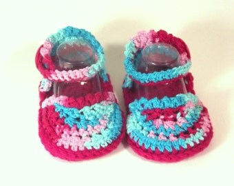 Baby Espadrille Sandal - Designer Baby Sandal - Baby Summer Espadrille - Crochet Baby Espadrille - Baby Girl Sandal - Baby Summer Shoe
