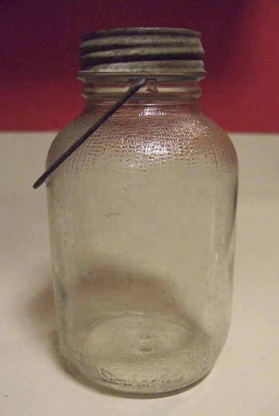 Items Similar To Antique Vintage Fruit Canning Jar Wire
