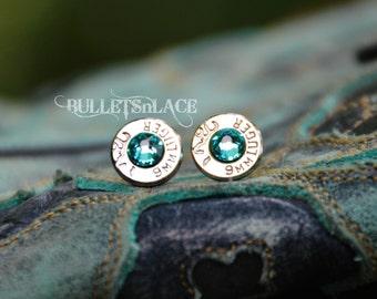 Bullet Earrings, Earrings, Stud earrings, Browning, Country Girl, 9mm
