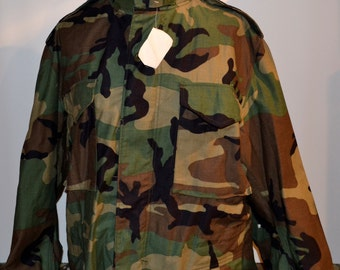 Military New BDU Woodland Coat
