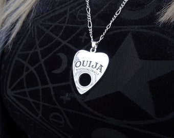 Mystifying Oracle planchette necklace